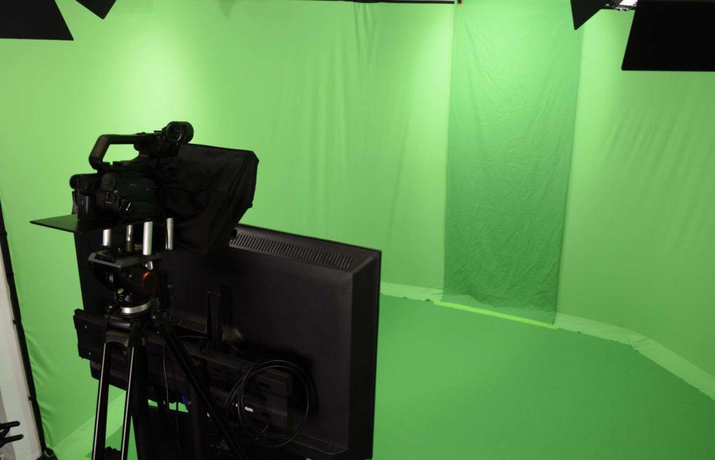 Gebärdensprachstudio, live Stream, Greenscreen Studio