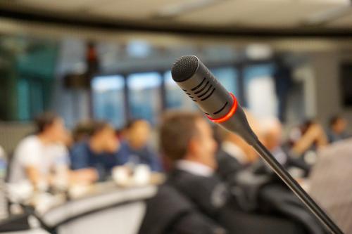 Pressekonferenz-Livestream